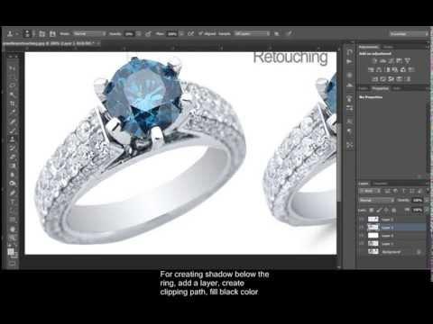 Jewellery Retouching Practice 4