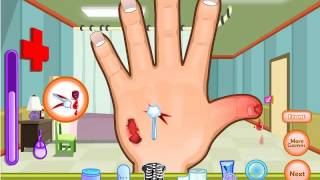 online free games for kids- Dora Hand Doctor( Dora Games)
