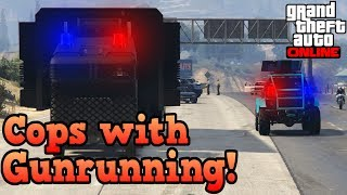 If cops used Gunrunning vehicles! - GTA Online