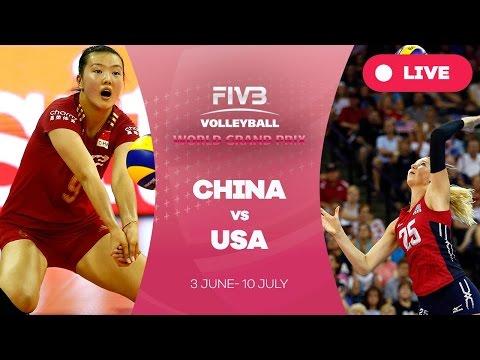 watch China v United States - Group 1: 2016 FIVB Volleyball World Grand Prix