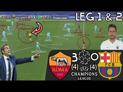 What Exactly Went Wrong For Valverde's Barcelona V Roma? Greatest Upset In Champion's League History