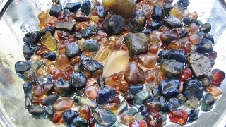 How to FIND SAPPHIRES - Identfying The Good Wash | Liz Kreate