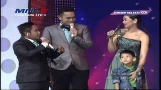Kaka Buah Hati Selfi Nafilah Jago Nyanyi   Konser Seleksi KDI 2015 (31/3)