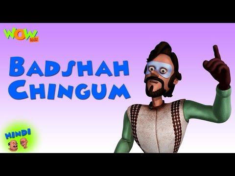Xxx Mp4 Badshah Chingam Motu Patlu In Hindi 3D Animation Cartoon For Kids As On Nickelodeon 3gp Sex