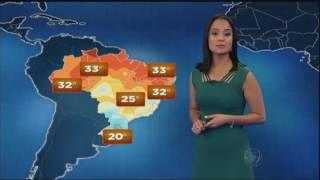 Previsão do tempo: Sul e Sudeste do país tem chuva forte