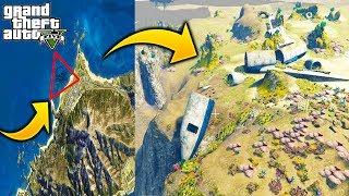 ¿Que Pasa Si Quitamos el Agua Y Vamos Al Triangulo Maldito en el Mar? GTA 5