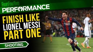 How to play like Lionel Messi | Part One | Soccer dribbling drill