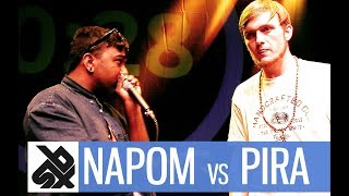 NAPOM vs PIRATHEEBAN |  Shootout Beatbox Battle 2017  |  FINAL