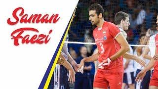 SAMAN FAEZI Best Actions (Iran v France) | Middle Blocker