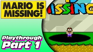 Mario is Missing! Playthrough (Part 1)