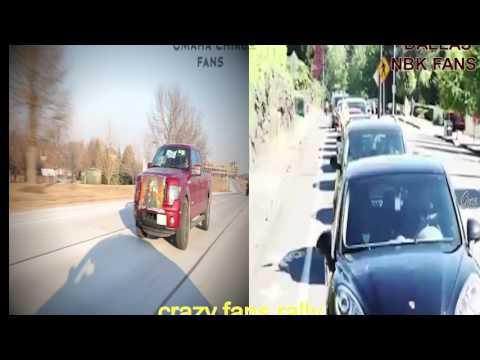 watch Chiru and Balayya Fans Rally USA