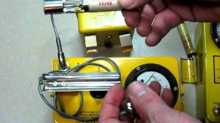 Extended Range CD V-700 Geiger Counter Demonstration