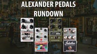 Alexander Pedals Rundown