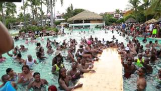Dominican Republican Punta Cana pool Party part II 2014 Urban Paradise
