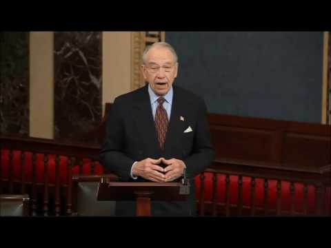 Grassley No One More Qualified than Jeff Sessions to be AG