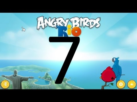 Let s Play Angry Birds Rio 07 Murder That Monkey