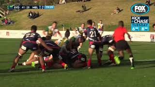 Rugby Kick and Chase - NRC Extra Time Round 3