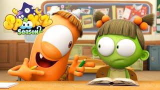 Spookiz 스푸키즈 | 201 - Spookiz's Day in School | (Season 2 - Episode 1) | Cartoons for Children