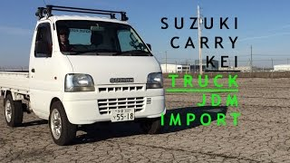 1999 Suzuki Carry Kei truck tour drive and review