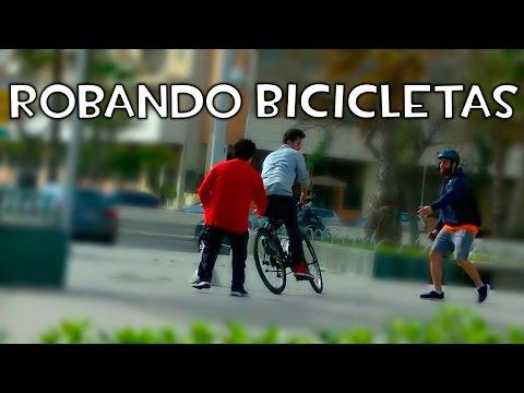 Robando bicicletas (Cámara oculta) MrAndrosLB