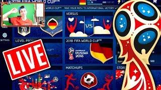 FIFA 18 MOBILE LIVE 😱🔥 PRESTIGE MODE + WORLD CUP