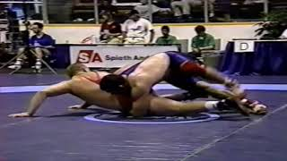 1993 Senior World Championships: 130 kg Zsolt Gombos (HUN) vs. Murabi Valiev (UKR)