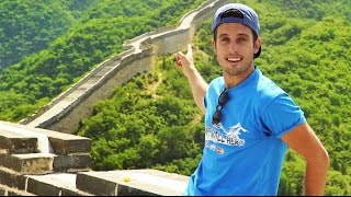 THE GREAT WALL OF CHINA - Flying My Drone!!