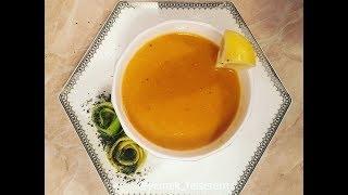 Mərcimək şorbası. Çox sade ve lezzetli. Merci supu. Mercimek çorbası.