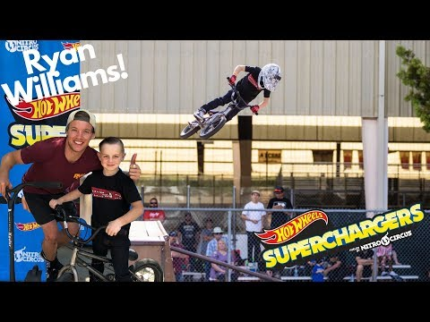 Getting Huge Air First Nitro Circus Hot Wheels Superchargers Competition Ryan Williams