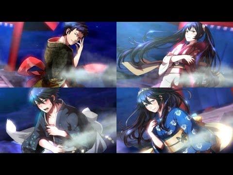 Fire Emblem Awakening - Hot-Spring Scramble Story & Yukata Scenes