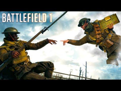 watch Battlefield 1 - Random & Funny Moments #12 (Ricochet Soldiers, Funny Killcams!)