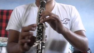 Como tocar el muchacho alegre - clarinete - banda