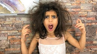 Hair Prank on Sister!! Kids Funny video