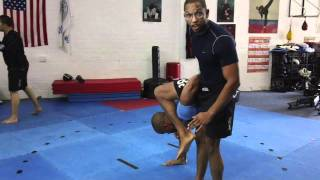 Grappling Tutorial - Standing LeBell Lock