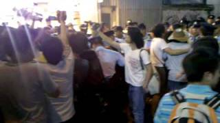 Statue of the Goddess of Democracy removed from Time Square Hong Kong 2010 Part 3