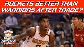 Rockets Trade Make Them Better Than Warriors ? | Hoops N Brews
