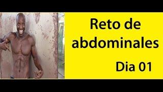 ABDOMINALES EN 30 DIAS ( RETO DIA 01)