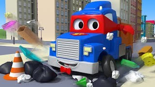 The Garbage Truck ! Carl the Super Truck in Car City | Children Cartoons