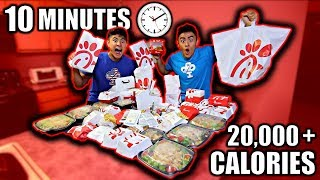 Ordering The ENTIRE CHICK-FIL-A Menu ... 2 TIMES!!!