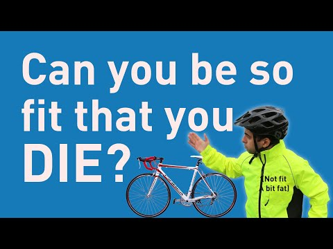 Cyclists hearts can you be so fit that you die