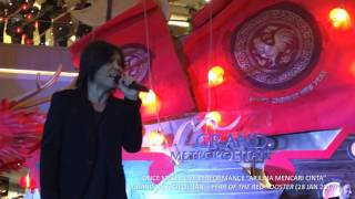 KINI SAATNYA - ARJUNA - AKU MAU (ONCE Live Performance at Grand Metropolitan, 28 Jan 2017)