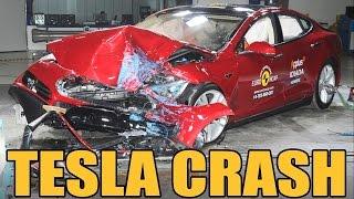 Tesla Model S - Crash Test