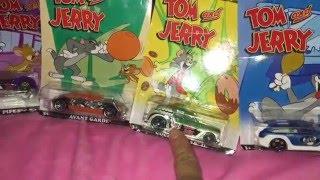 Unboxing Hot wheels Tom & Jerry cars /  Abriendo Carros de Tom & Jerry