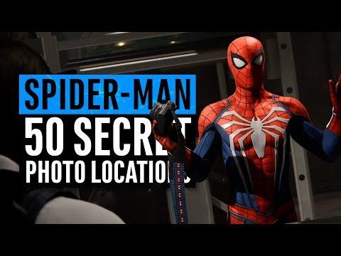 Xxx Mp4 Spider Man PS4 All 50 Secret Photos Locations Hidden Suit 3gp Sex