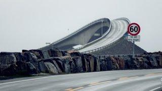 ATLANTIC OCEAN ROAD, VISIT NORWAY (Rainy September Drive)