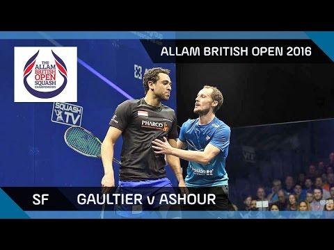 Squash: Gaultier v Ashour - Allam