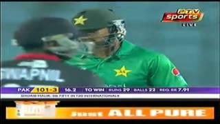 Malik hits a solid 63  under pressure   Ptv Sports