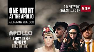 TRAILER One night at The Apollo SRF free entry