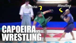 Capoeira vs Wrestling ✓ MMA Superfight