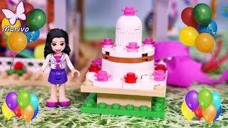 Urodzinowa niespodzianka Emmy 🎉Urodziny🎉 Bajka Lego Friends po polsku